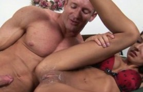 lexi diamond gets her pussy covered with cum