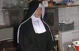 shy european nun gets her ass fucked beautiful and hard