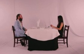 fancy dinner with pussy meal