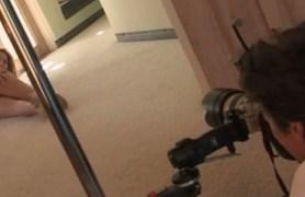 brea lynn posing and masturbating on camera