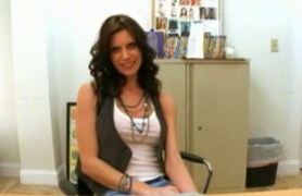 skinny violet raye interviewed by bangbros