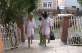 dark nurses fuck at work!
