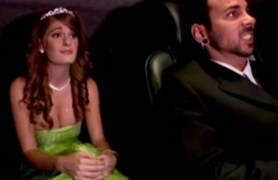 limo driver fucks his boss' redhead daughter