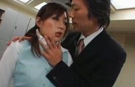 japanese office sex. pantyhose fetish