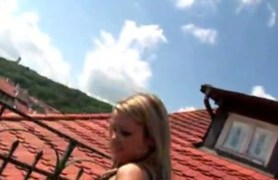 european lesbians fisting on the roof