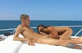 cock ride in the middle of the ocean