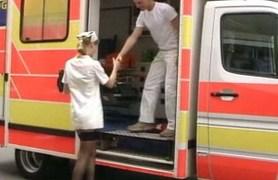 skinny german anja laval having sex in ambulance