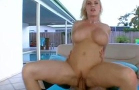 mega titted milf knows how to ride on my cock