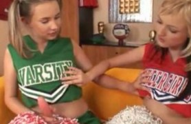small cheerleaders get their holes throughly fucked