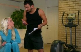 a personal trainer for their daughter.