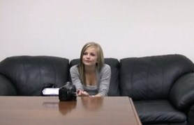white teen riley posing for casting.