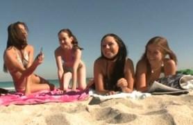 beach orgy.