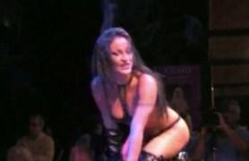 striptease show.