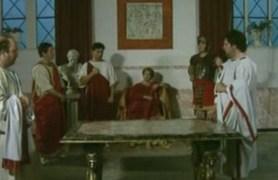 orgy in roman style.