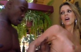 skinny black cock in courtney's pussy.