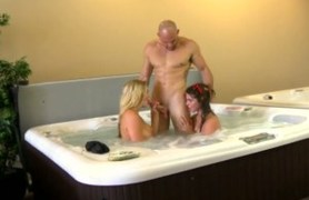 paid for having sex in jacuzzi.