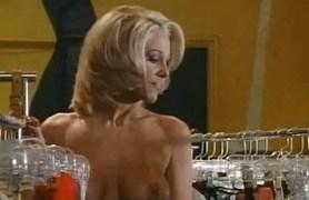 skinny blonde busty milf.