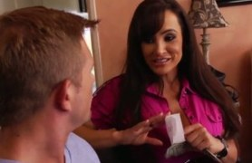 new grocery delivery boy for lisa ann.