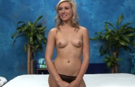blonde young masseuse lily