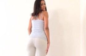 interviewing cute ass babe