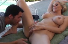 julia ann comes home early to find her son's friend