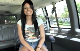 on the bus with a new hottie