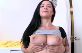 new good natural titted american spreading ass