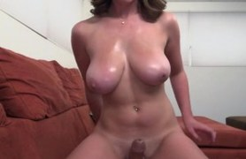 young titted handjob