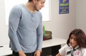 petite schoolgirl fucking her teacher