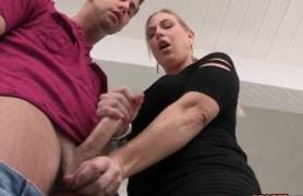 my girlfriend's mom sucking my cock
