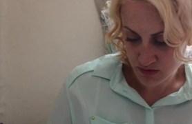 blonde mormon girl home alone