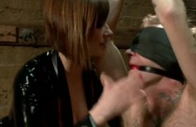 maitresse madeline dominates her man